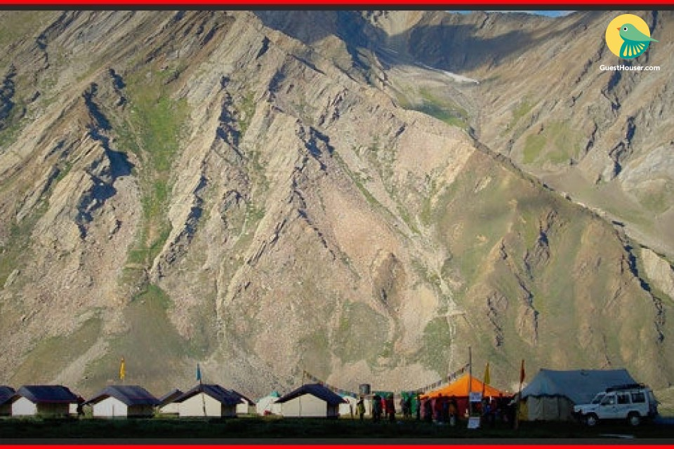 Tents near Kargil