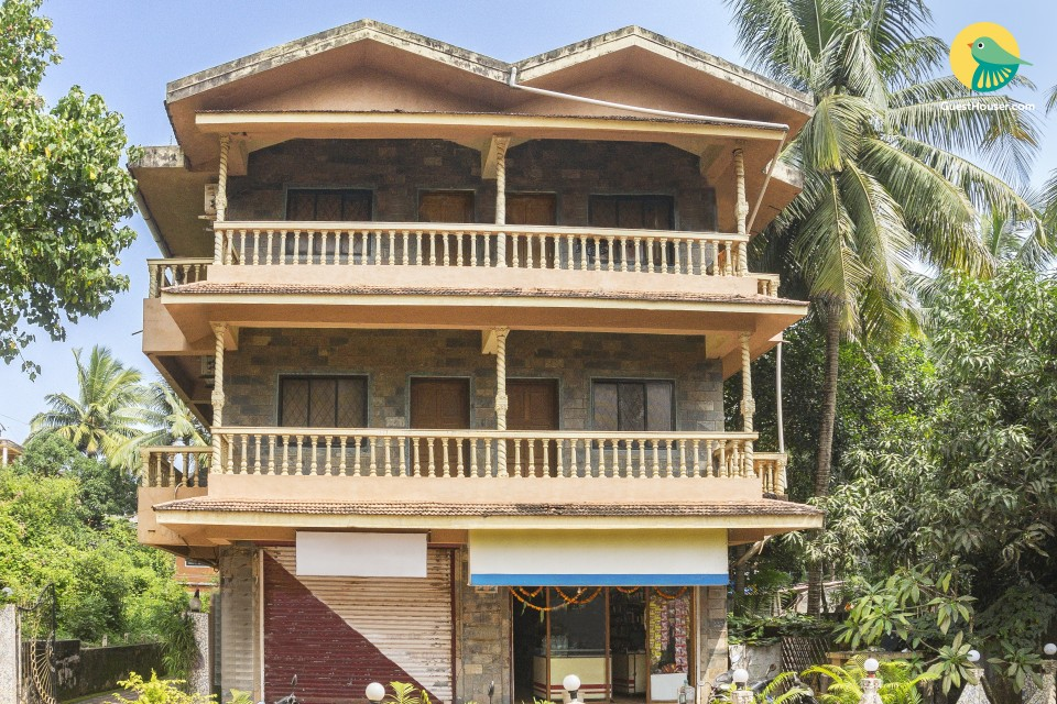 Comfy abode for six, 2 km from Calangute Beach