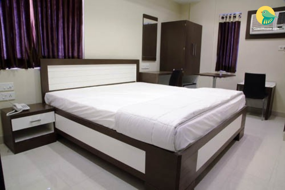 Well furnished Rooms with modern amenities