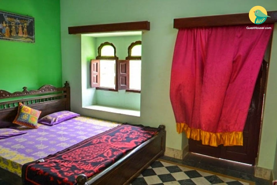 Pocket-friendly accommodation for two, ideal for backpackers