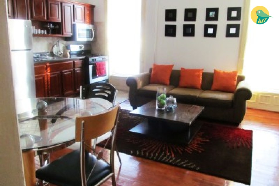 A MAGNIFICENTLY LARGE 1BR APT