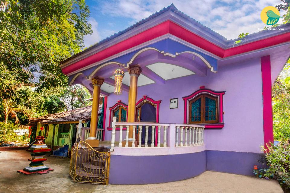 Comfortable 2-bedroom homestay, close to Mandrem beach