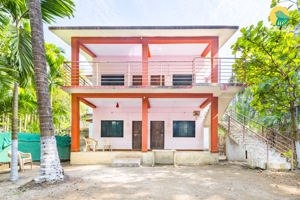 4-BR cottage amidst coco palms, 1.5 km from Nagaon Beach