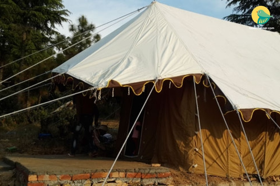 Enjoy stay in Tents in lap of Nature