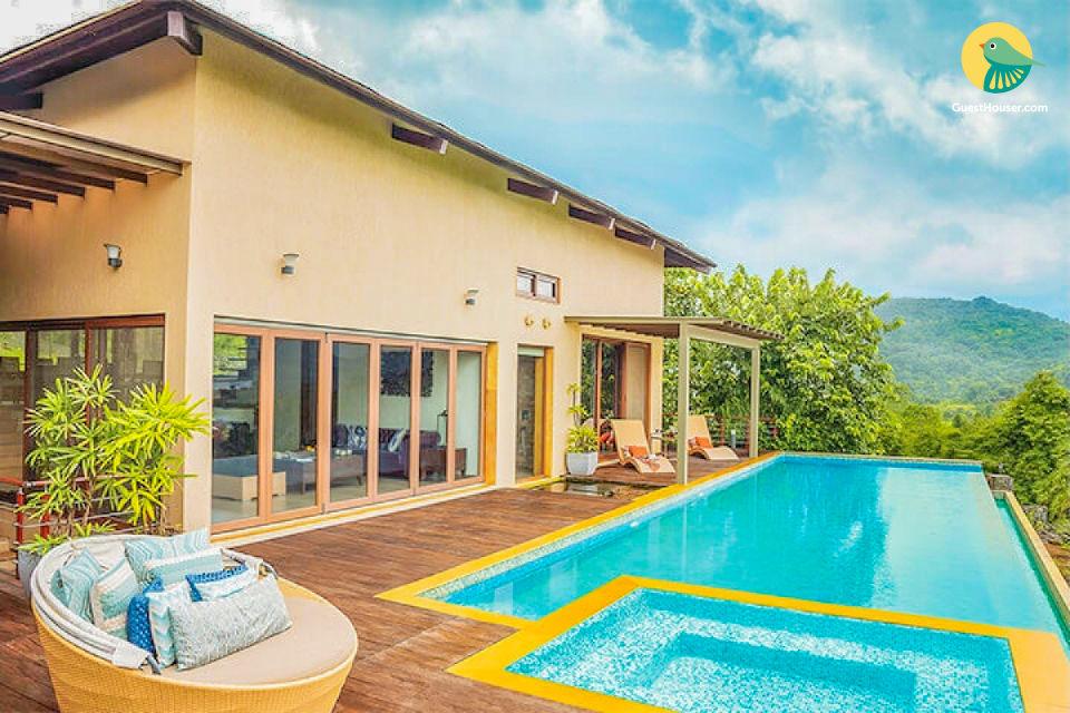 5 BR villa near Pawna Lake