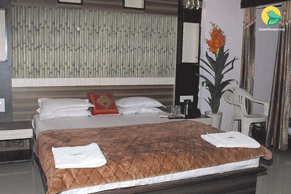 Comfortable guest house room