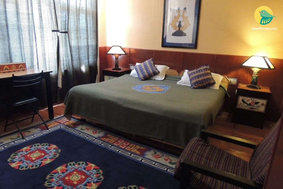 Boutique room near Bhagsu Waterfall