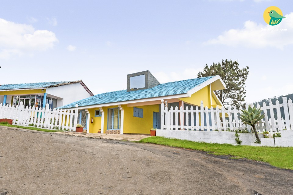 Cheerful 3-BR cottage, close to Ooty Lake