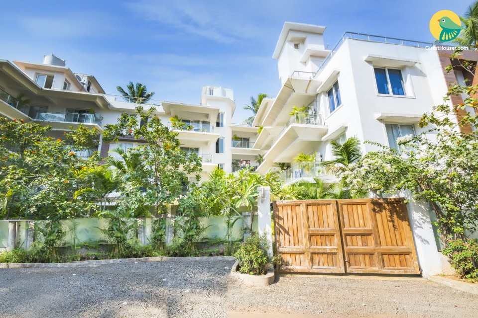 1 BHK for groups, close to Baga Beach