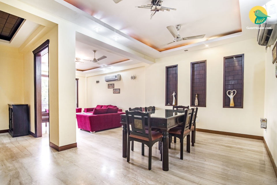 3BHK contemporary apartment, ideal for a family