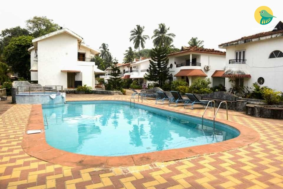 Homely 3-BR villa, near Candolim Beach