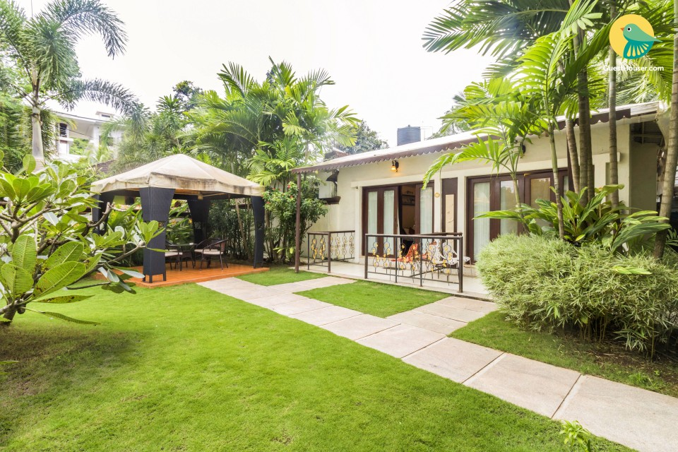 Elegantly-furnished stay near Anjuna Beach, ideal for a couple's retreat