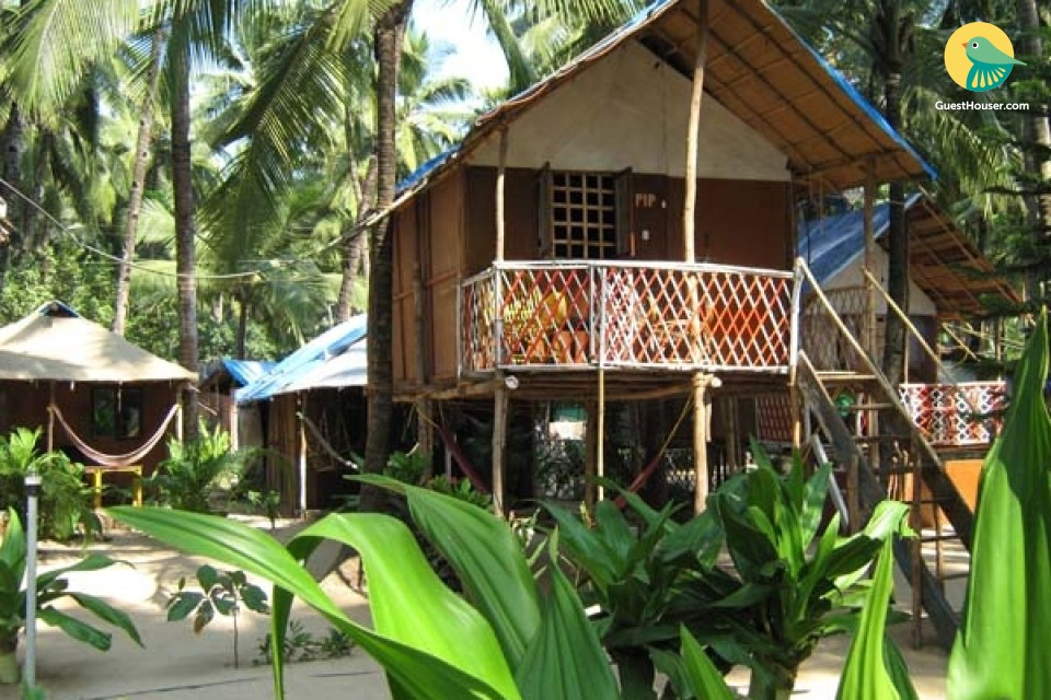 Capacious stay right on Palolem beach