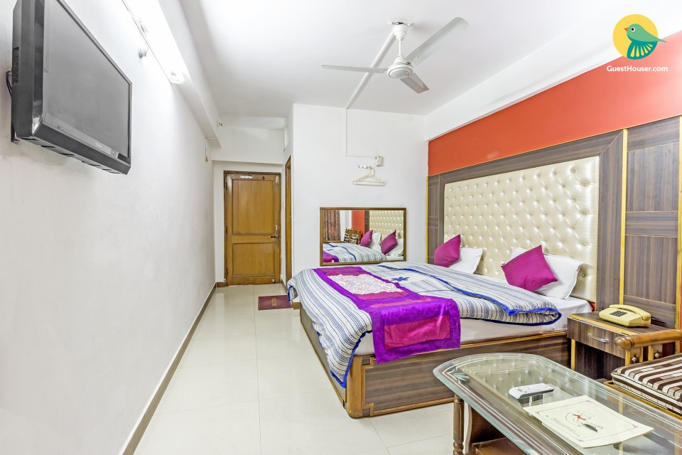 Spacious room for two