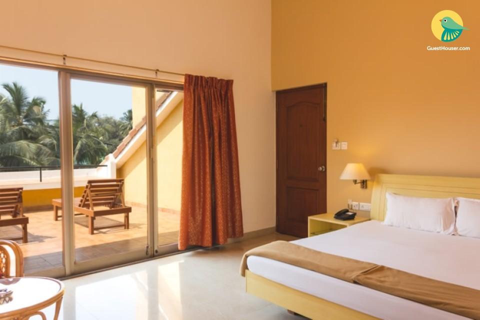 Private room near Dona Paula beach