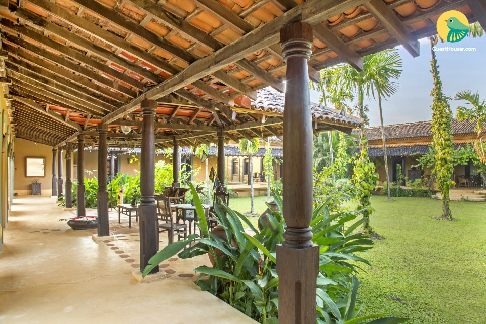 3BHK cosy pool villa with a private lawn