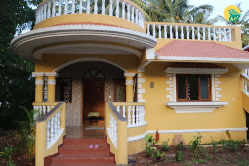 2-bedroom relaxing villa in the serene environs of Pernem village