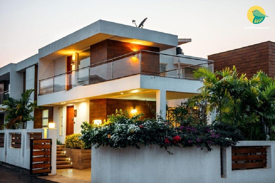 4BHK family villa stay