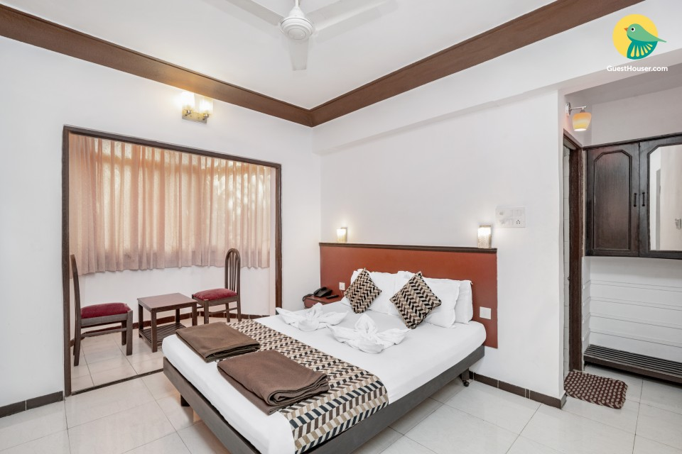 Tastefully done room for 3, close to Candolim Beach