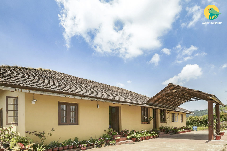 Two rooms in a rustic homestay, near Madikeri Fort