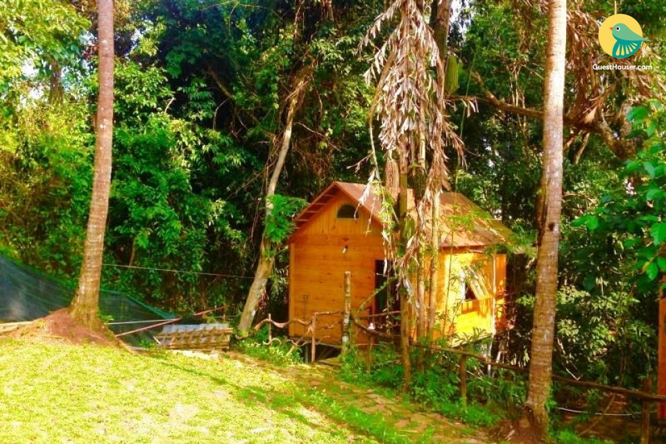 Wooden Decorated 1 bedroom Cottage