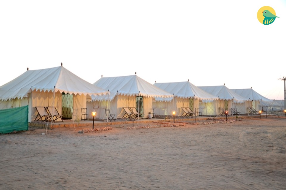 Experience the stay in Tents