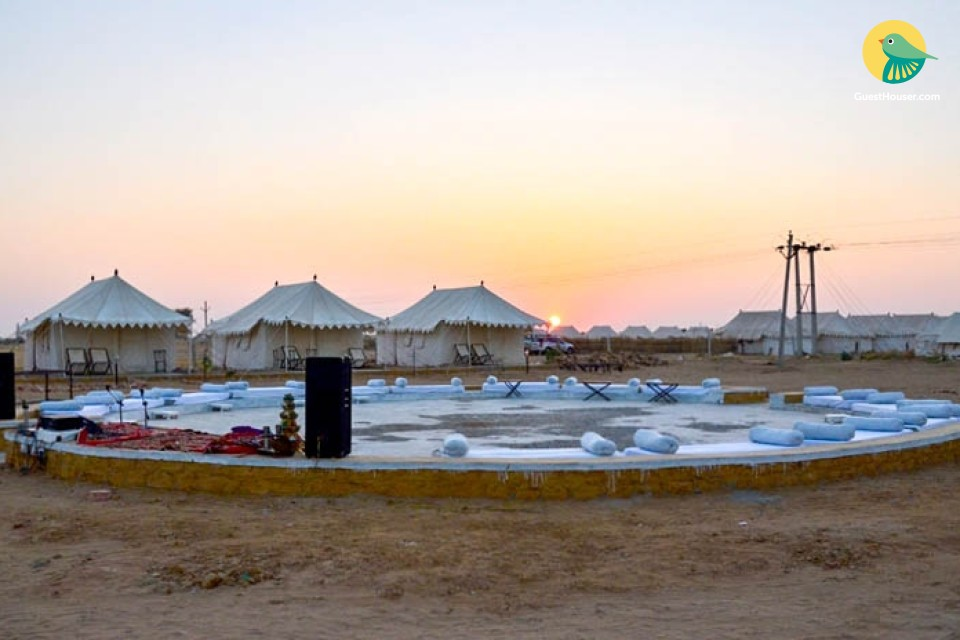 Premium tents in Jaisalmer