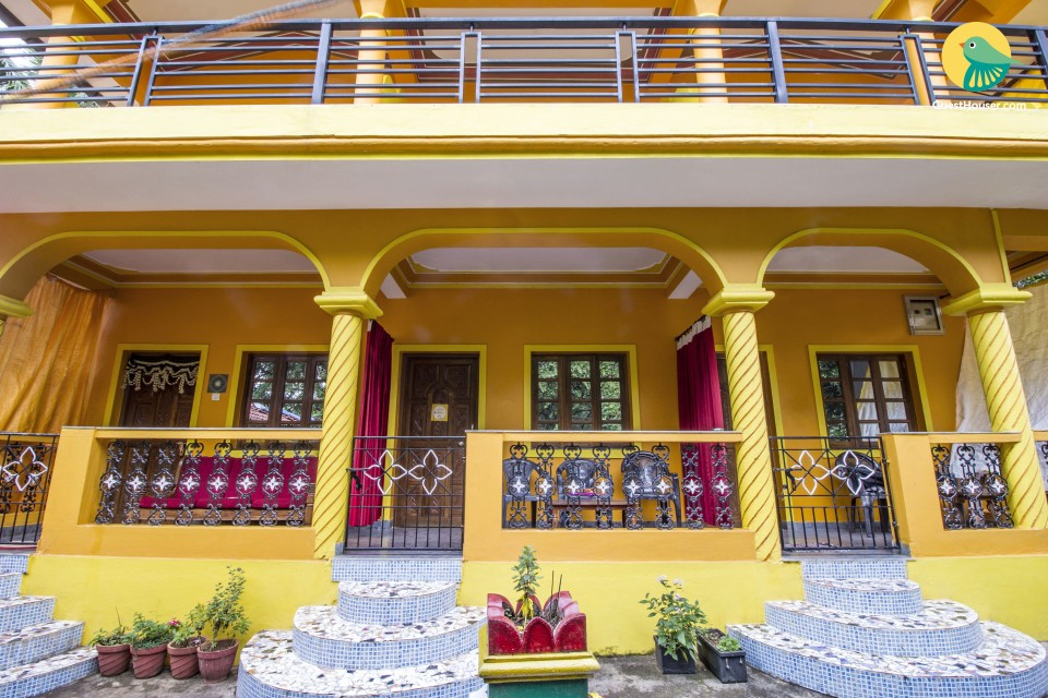 A homely stay for three, close to Anjuna Beach