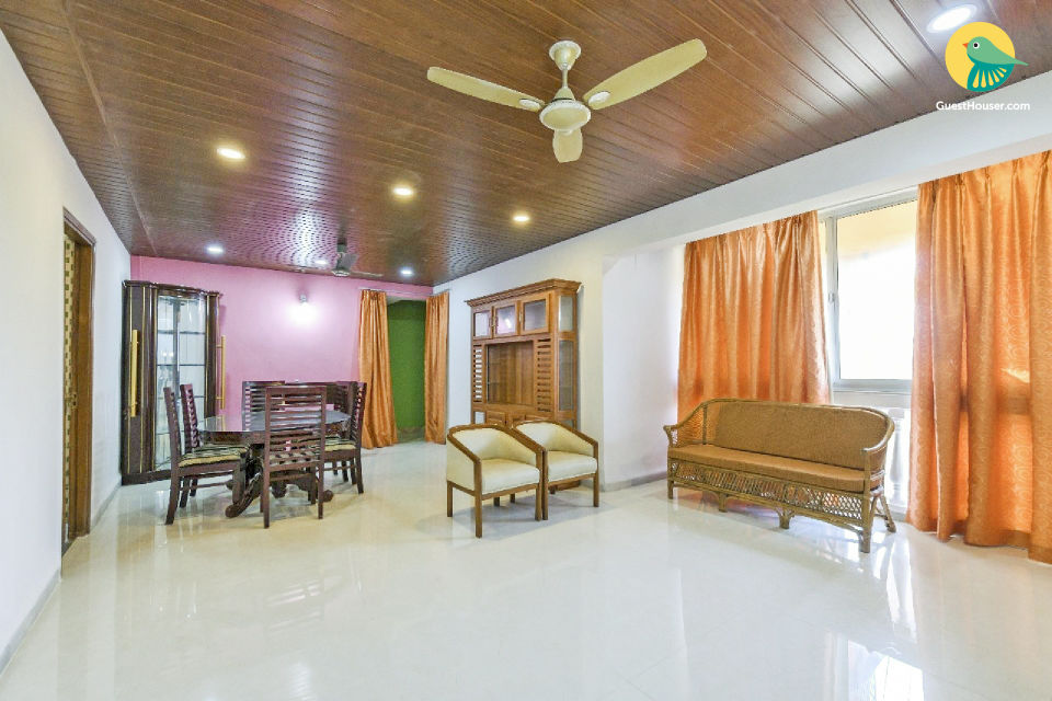 3-BHK apartment for groups