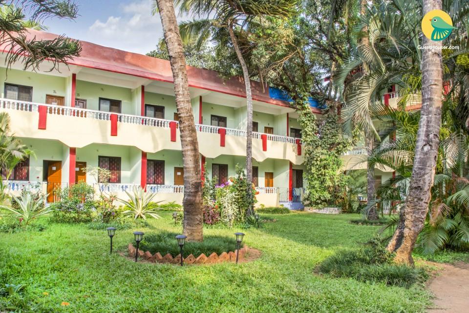 Eco-friendly stay, 1 km from Benaulim beach