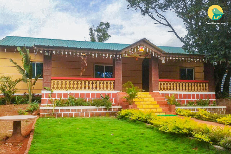 4-BR bungalow near Lingmala Falls