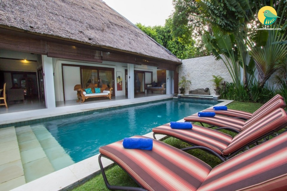 An Elegant 2 bedroom villa with beautiful view