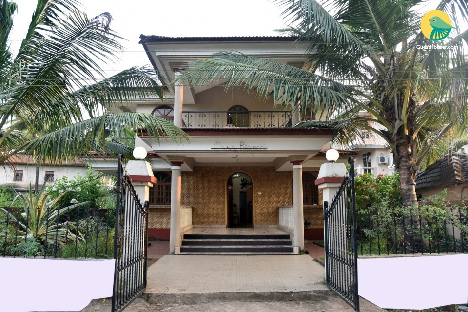 Homely 5-bedroom villa, situated just 1.5 km from Benaulim beach
