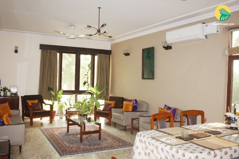 Luxurious Fully Furnished Apartment Stay In Delhi
