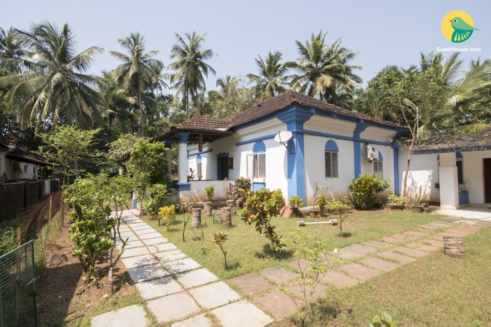 Spacious 3-BR villa near Calangute beach