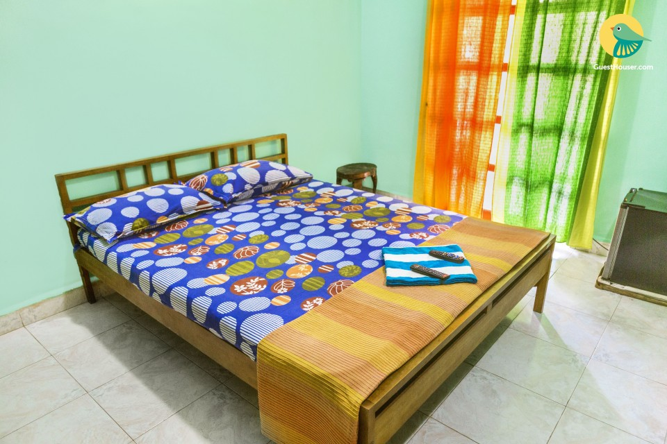 Pet-friendly 1-bedroom accommodation, 150 m from Calangute beach
