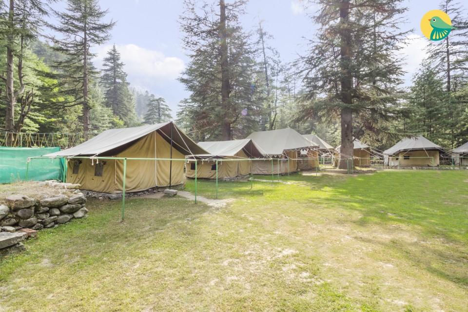 1-bedroom riverside tent