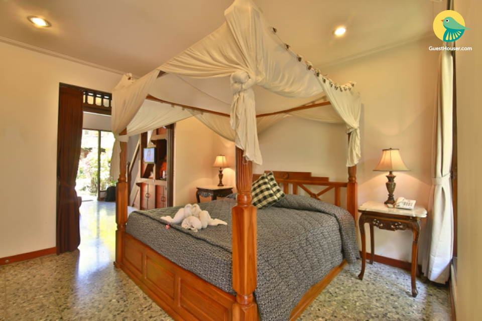 a well furnished 1 bedroom villa