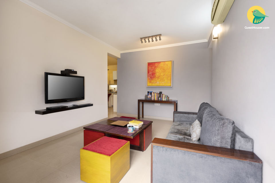 Centrally located 1 BHK with cosy interiors