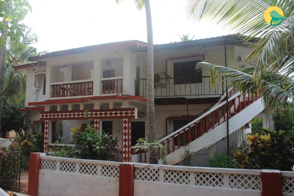 Pleasant accommodation for 3, close to Calangute Beach