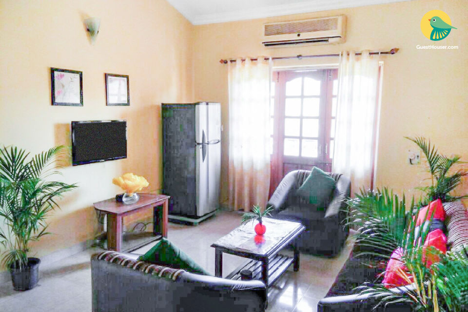 Restful 2-BR stay for a family, close to Calangute Beach