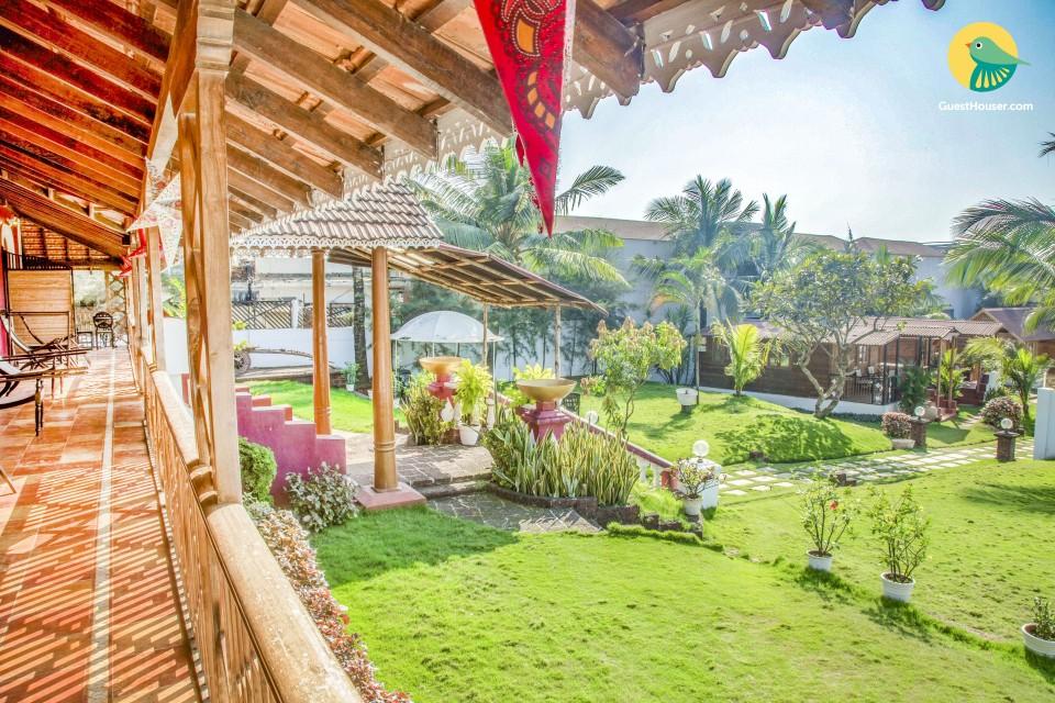 Romantic room in a gorgeous villa, 800 m from Baga beach