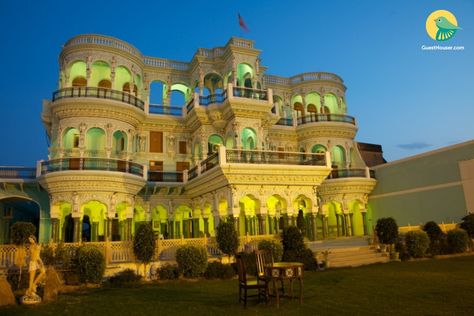 Magnificent heritage stay for leisure travellers