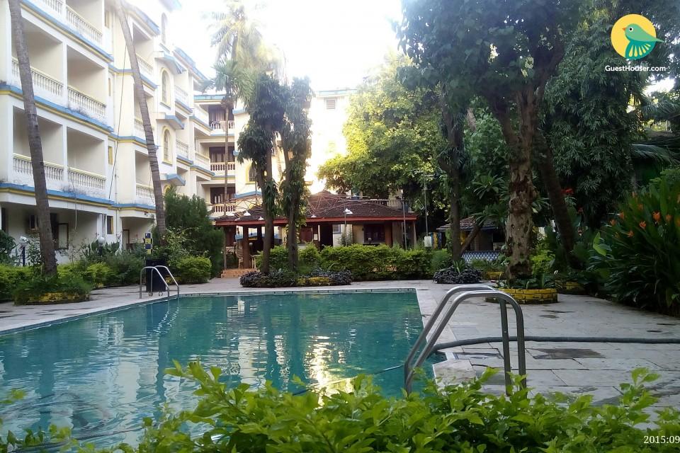 Modest 1-bedroom apartment, close to Calangute beach