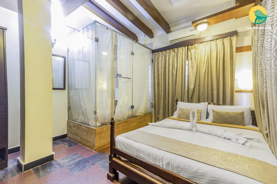 Elegant 1-bedroom accommodation, 100 m from Calangute beach