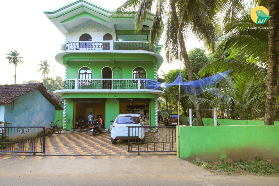 Utopic 3-BR homestay for a group, 450 m from Benaulim beach