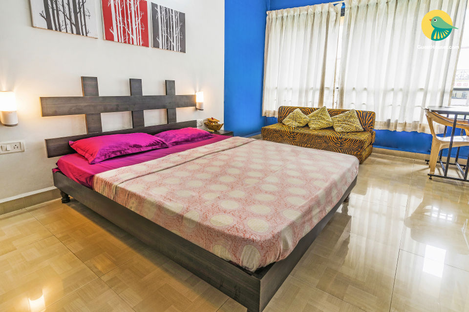 Refreshing 1 BHK with a pool, 2.2 km from Anjuna Beach