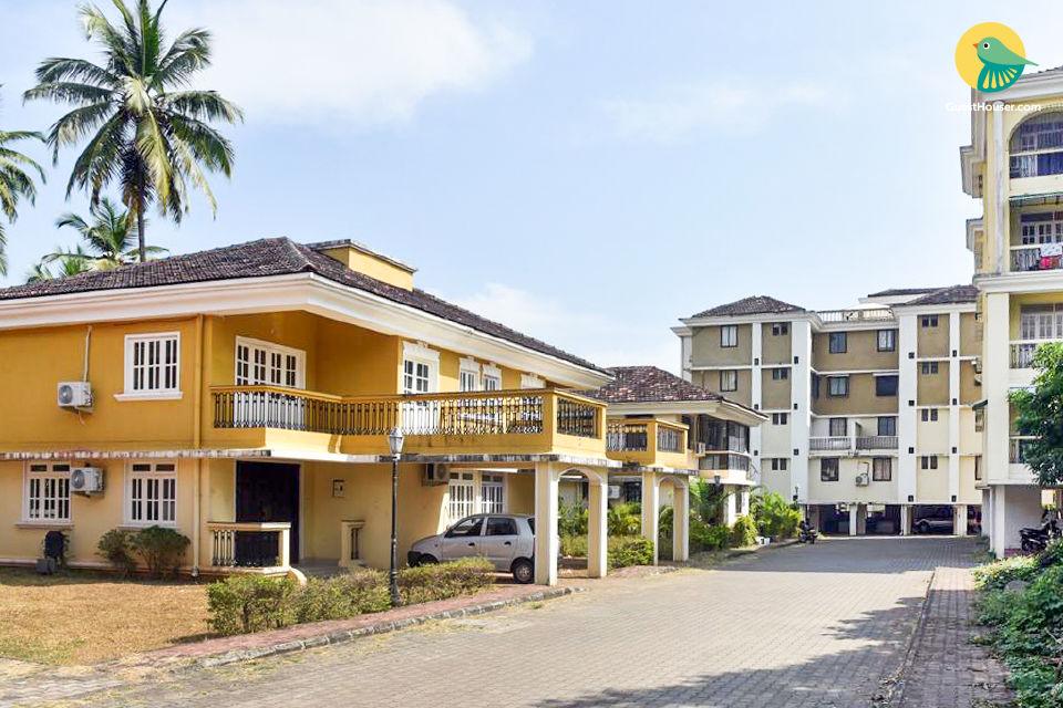 2 BHK apartment, near Colva Beach