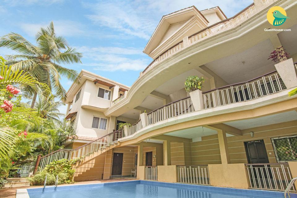 3-BHK apartment in Saligao