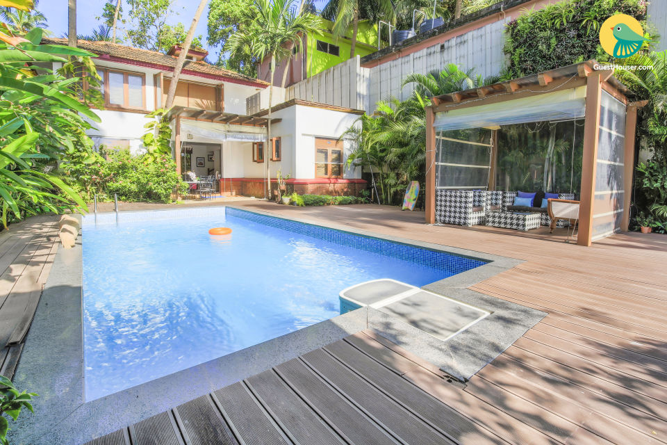 3 Bedroom Luxurious Villa With Private Pool,Near Arambol Beach